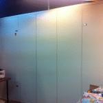 השלמת בניית ארון חשמל חיצוני המגן בפני קרינה