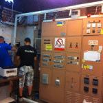 מיגון דלת חיצונית ללוח חשמל בפני קרינה